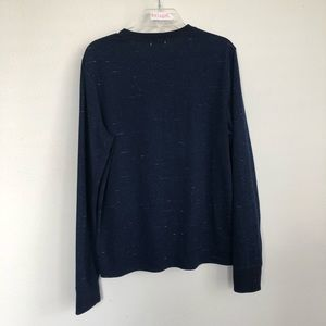 Jack Spade Shirts - Jack Spade Henley Heather Long Sleeve Shirt